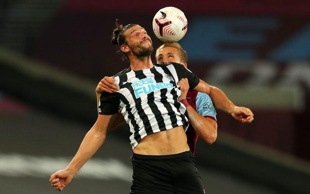 Newcastle striker Andy Carroll tormented his former team