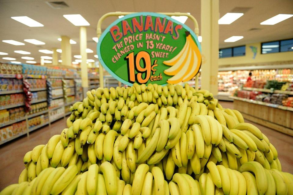 <p>So what are the best buys in the store? Some items that will save you serious cash are ground meats, olive oil, specialty cheeses, nuts and bananas—the latter of which haven't gone up in price in over 10 years.</p>