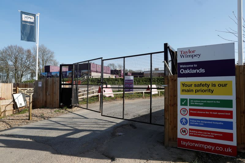 Taylor Wimpey predicts 40% drop in home completions this year