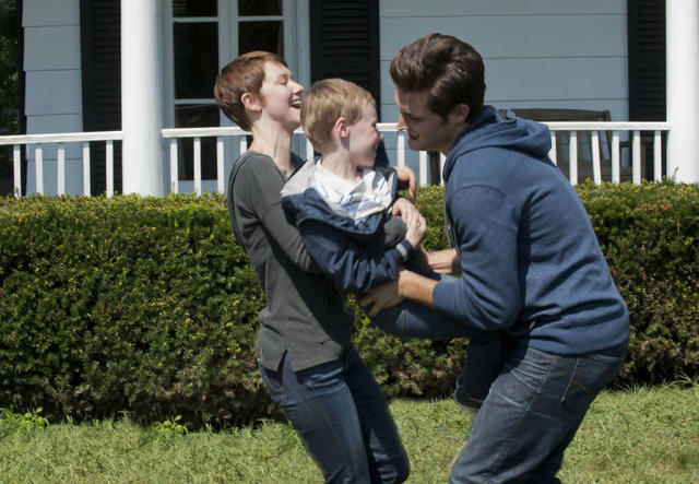 "Emma (Valorie Curry) and Jacob (Nico Tortorella) are responsible for the kidnapping of Claire Matthews' son Joey (Kyle Catlett) in the ""The Poet's Fire"" episode of ""The Following."""