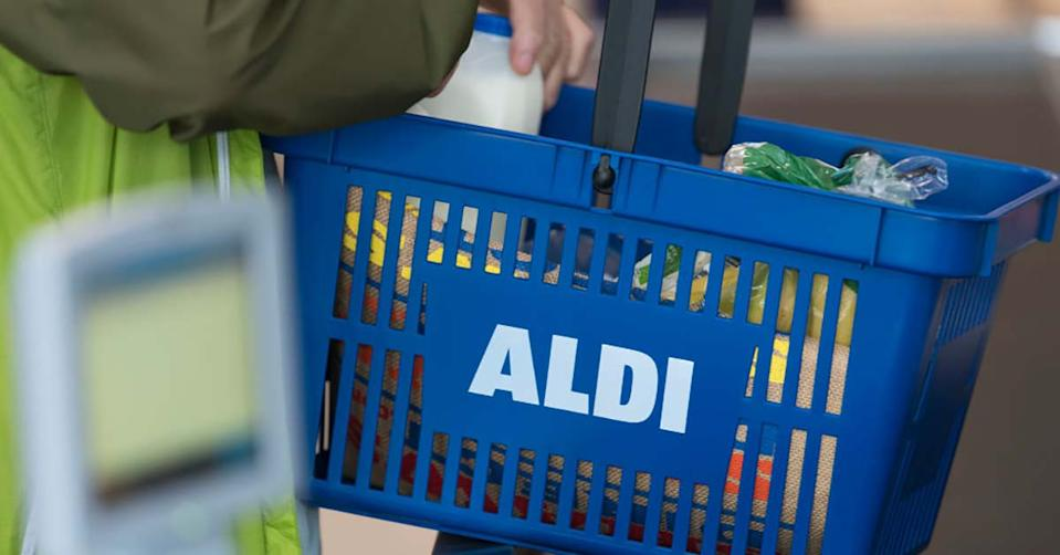 An Aldi shopper has shared how she was blown away by an act of kindness at the checkout when she couldn't pay for her groceries. Photo: Getty