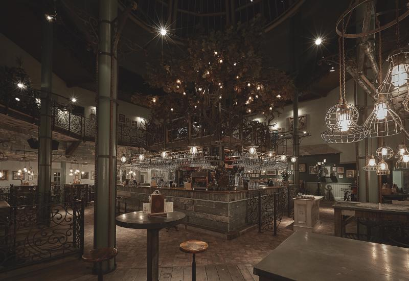 The stylish interiors at The Botanist. [Photo: The Botanist]