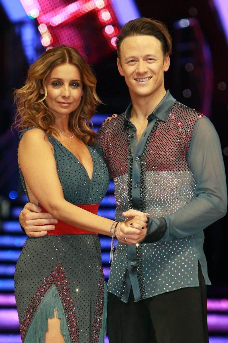 After making it to the Strictly final, Louise and Kevin took part in the tour together (Photo: Mark R. Milan via Getty Images)