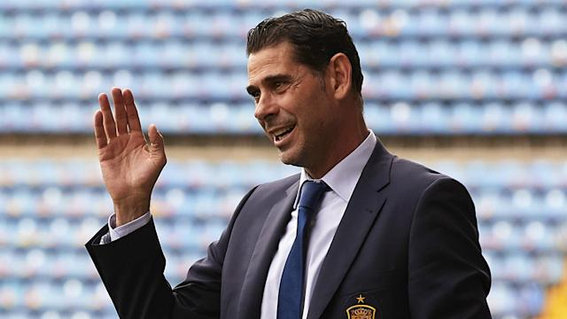 The pre-World Cup sacking of Julen Lopetegui could have caused La Roja to implode, but the Iran boss has saluted Hierro's impact