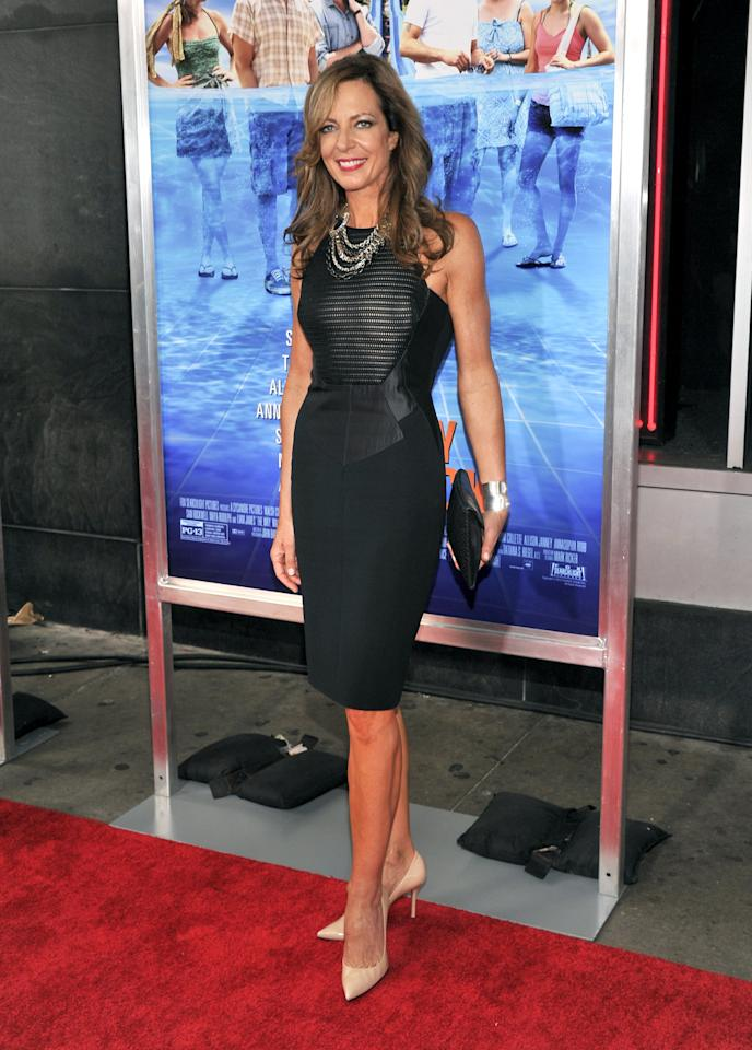 "NEW YORK, NY - JUNE 26: Actress Allison Janney attends ""The Way, Way Back "" New York Premiere at AMC Loews Lincoln Square on June 26, 2013 in New York City. (Photo by Stephen Lovekin/Getty Images)"
