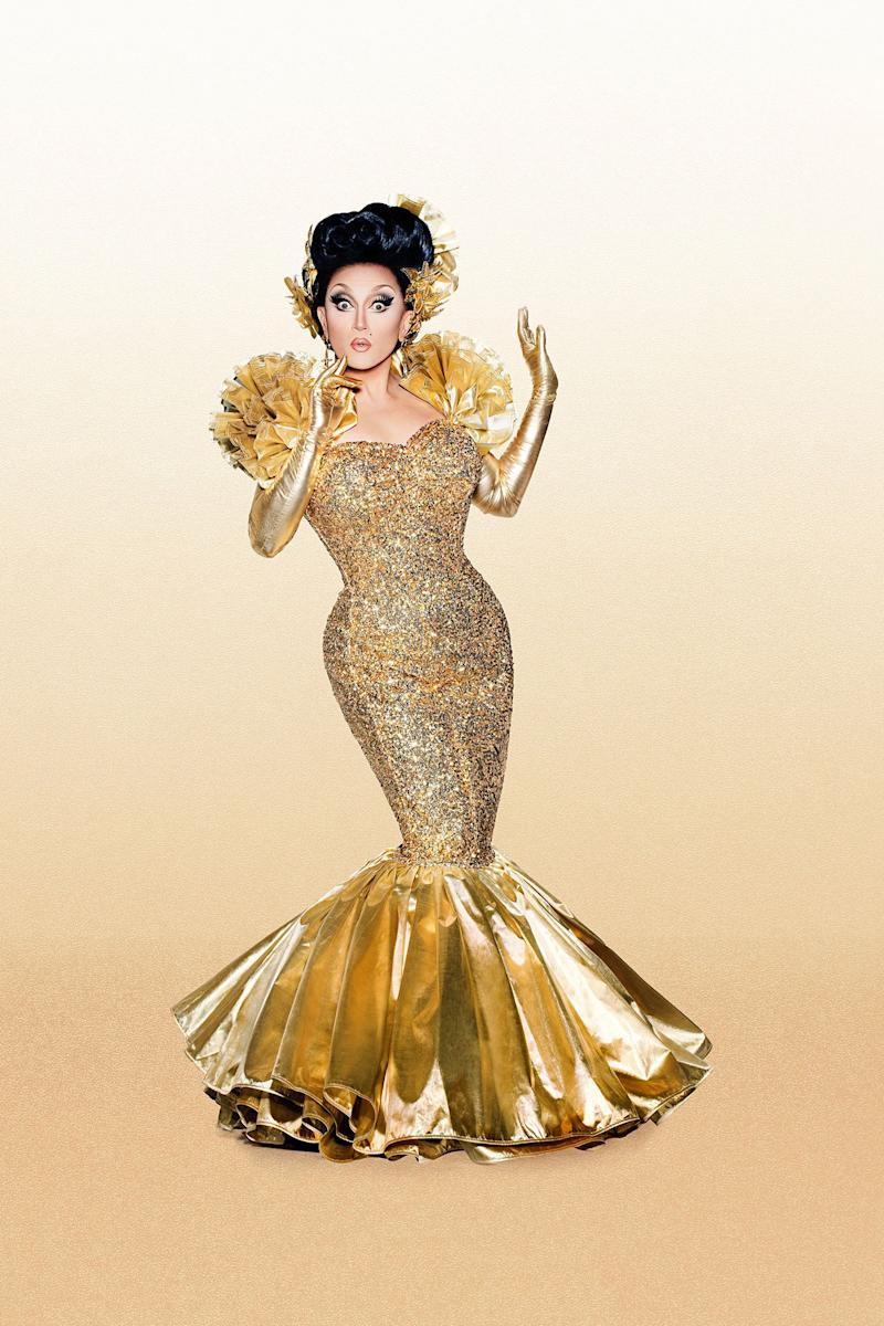 "From: Seattle, Washington<br /><br />Twitter: @bendelacreme, Instagram: @bendelacreme<br /><br />HI EVERYBODY! IT'S ME, BENDELACREME! Season six's Miss Congeniality is ready for another shot at the crown, but she's still Ms. Crème if you're nasty. This campy queen is ready to reach new levels of supremacy and dominate her competition. Dela's terminally delightful demeanor and sickening talent will be her greatest strengths, as she navigates the treacherous waters of ""All Stars"" season three."