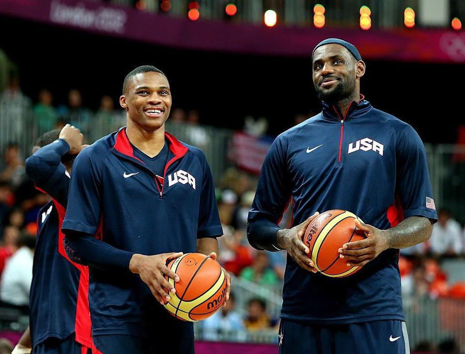 LeBron James pledged support for his former USA Basketball teammate. (Getty Images)
