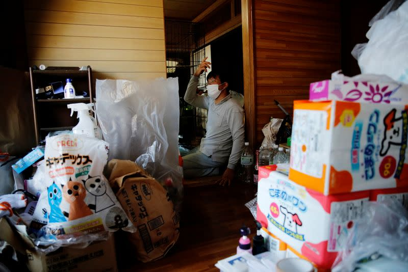 The Wider Image: The man who saves forgotten cats in Fukushima's nuclear zone