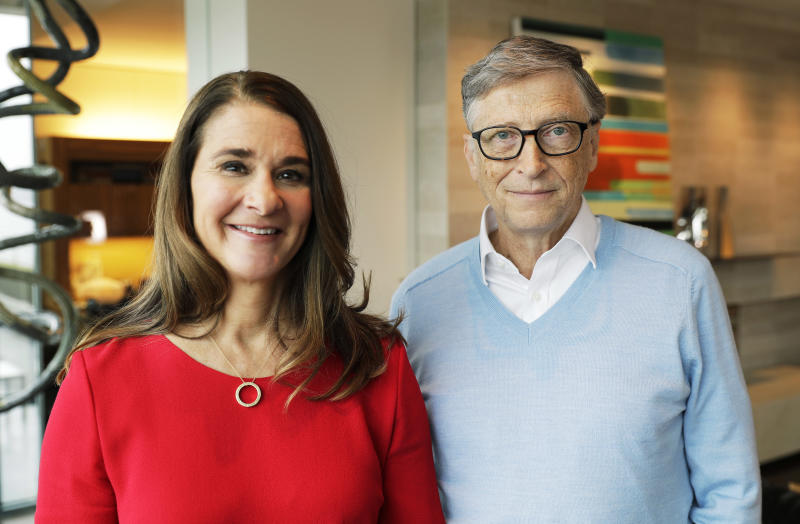 Melinda Gates embraces public role, calls out Trump