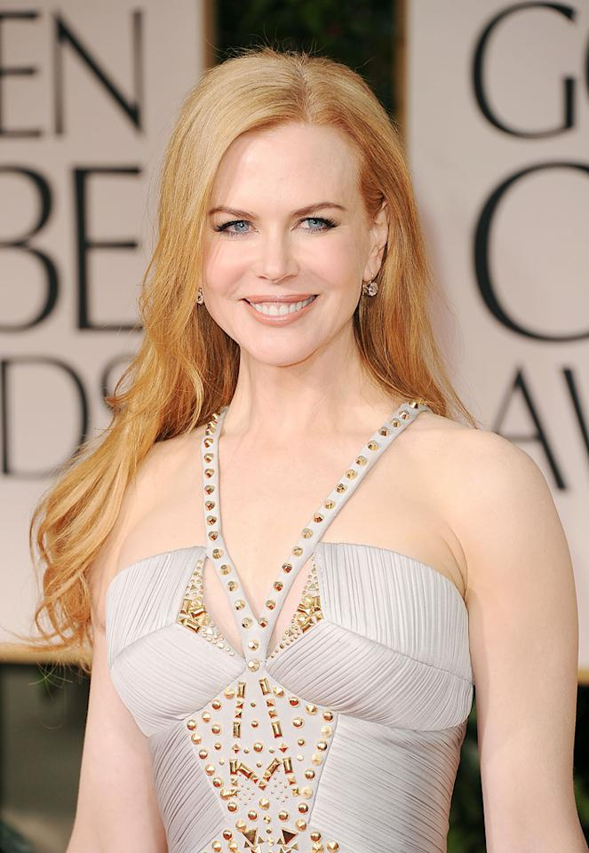 Nicole Kidman arrives at the 69th Annual Golden Globe Awards in Beverly Hills, California, on January 15.