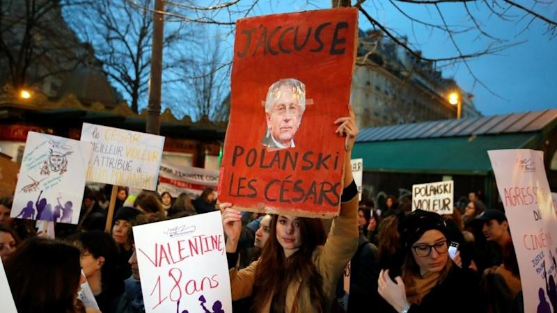 Actors walk out of French Oscars as Polanski wins best director