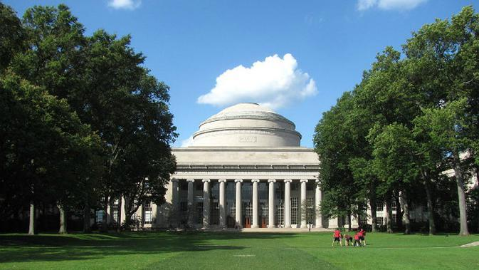 Great Dome, Massachusetts Institute of Technology. (Sumber mit.edu)