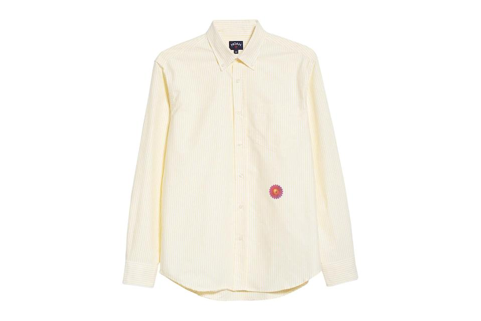 "$148, Nordstrom. <a href=""https://www.nordstrom.com/s/noah-x-b-52s-button-down-oxford-shirt-nordstrom-exclusive/5593423?origin=keywordsearch-personalizedsort&breadcrumb=Home&color=none"" rel=""nofollow noopener"" target=""_blank"" data-ylk=""slk:Get it now!"" class=""link rapid-noclick-resp"">Get it now!</a>"