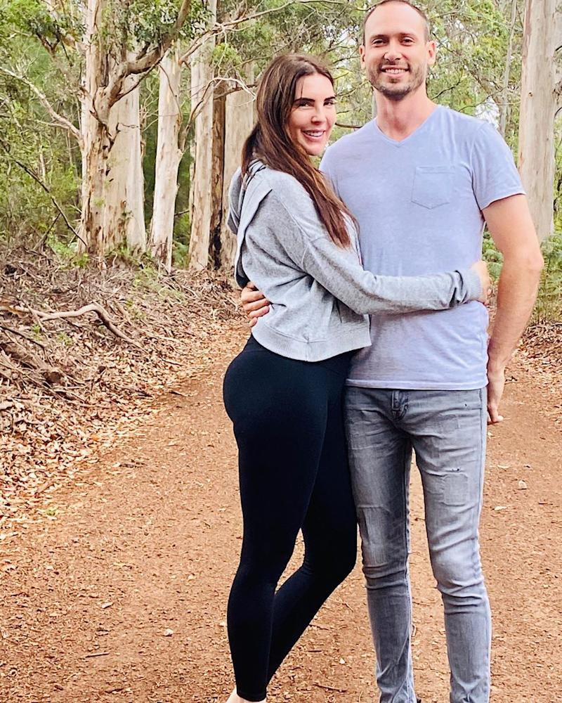 Former MAFS star Tracey Jewel with her parter Nate