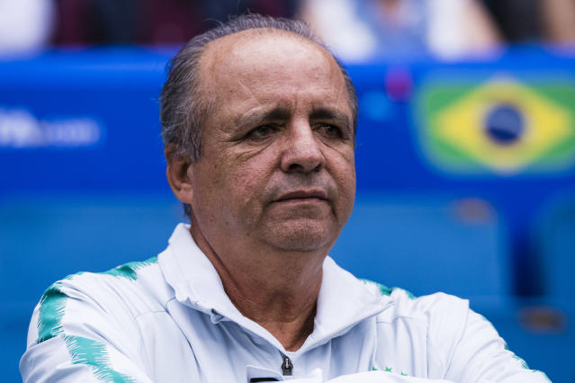 LE HAVRE, FRANCE - JUNE 23: Oswaldo Alvarez, Vadao of Brazil during the 2019 FIFA Women's World Cup France Round Of 16 match between France and Brazil at Stade Oceane on June 23, 2019 in Le Havre, France. (Photo by Marcio Machado/Getty Images)