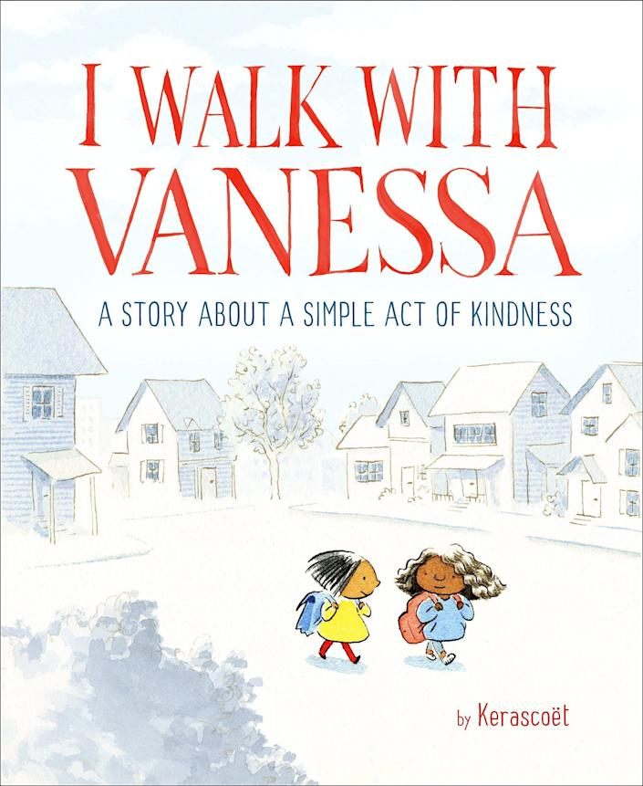 "In this story, readers see that small acts of kindness can inspire whole communities and make a huge difference. <i>(Available <a href=""https://www.amazon.com/Walk-Vanessa-Story-Simple-Kindness/dp/1524769568"" rel=""nofollow noopener"" target=""_blank"" data-ylk=""slk:here"" class=""link rapid-noclick-resp"">here</a>)</i>"