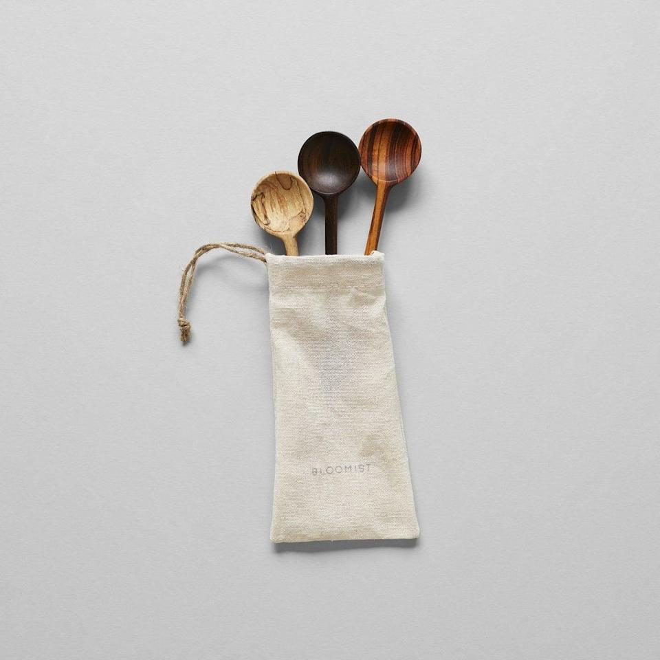 <p>We want these hand-crafted <span>Bloomist Small Tasting Spoons</span> ($48) for ourselves.</p>