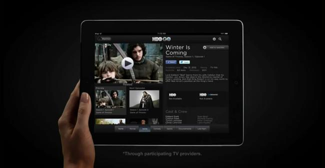 HBO Go streaming app announced for iOS and others