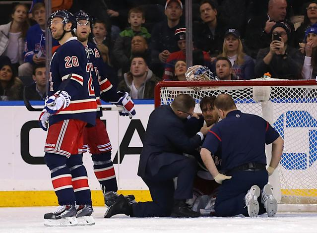 Henrik Lundqvist on vascular injury: 'It could have been worse'