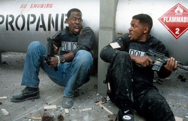 PHOTO: Martin Lawrence and Will Smith are shown in a scene from the 1995 film 'Bad Boys.'  (Columbia Pictures/Getty Images, FILE)