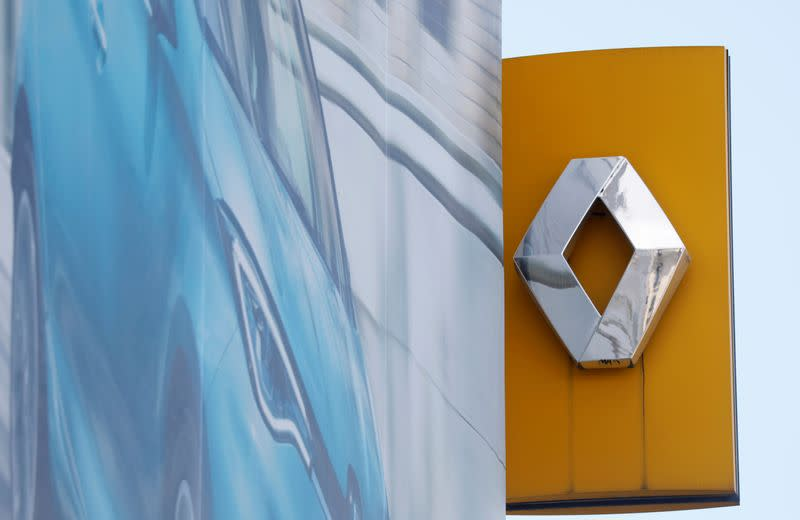 France's Renault draws down part of state-backed loan