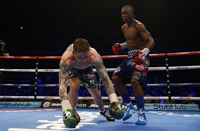 Ricky Burns and Julius Indongo