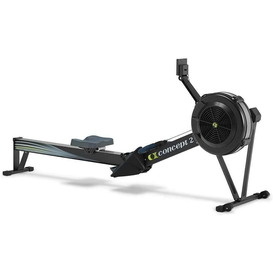 """<p><strong>Concept2</strong></p><p>amazon.com</p><p><strong>$1296.36</strong></p><p><a href=""""https://www.amazon.com/Concept2-Performance-Monitor-Indoor-Machine/dp/B00NH9WEUA/?tag=syn-yahoo-20&ascsubtag=%5Bartid%7C2141.g.27547247%5Bsrc%7Cyahoo-us"""" rel=""""nofollow noopener"""" target=""""_blank"""" data-ylk=""""slk:Shop Now"""" class=""""link rapid-noclick-resp"""">Shop Now</a></p><p>If you've ever used a rowing machine at the gym, chances are it's from Concept2. Gym owners love it <em>almost</em> as much as online reviewers; an astounding <strong>95% of Amazon customers give it a perfect five stars</strong>. """"This machine rides like a Cadillac,"""" one reviewer writes. """"I can also watch TV at just over normal volume and hear everything."""" The Model D can also record your workout data, and thanks to its caster wheels, you can easily move it around your home.</p>"""