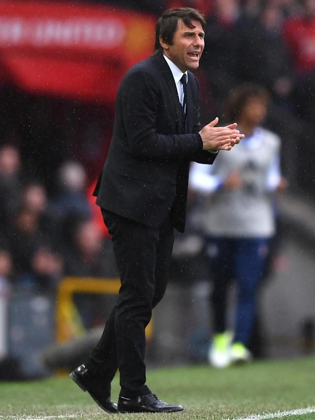 Conte says his side are coping with the pressure (Getty)