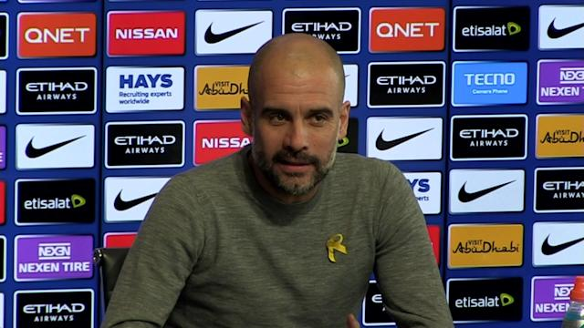 Manchester City manager Pep Guardiola pre-match press conference v Stoke - Talking about teams in relegation trouble