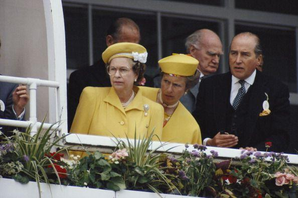 <p>You have to love a mother-daughter monochrome moment. Princess and and Queen Elizabeth looked less than mellow in yellow with those skeptical faces at the Derby in Epsom in 1988.</p>