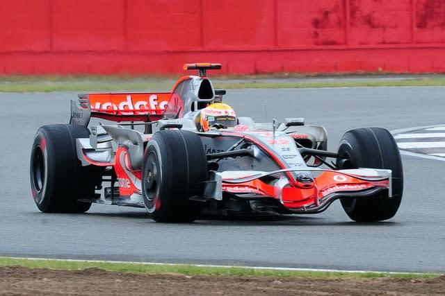 Lewis Hamilton stormed to victory in the 2008 British Grand Prix (Rui Vieira/PA)