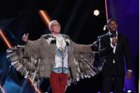 """<p>There's a set of <a href=""""https://www.cheatsheet.com/entertainment/the-masked-singer-do-the-celebrities-pick-their-costumes-on-the-show.html/"""" rel=""""nofollow noopener"""" target=""""_blank"""" data-ylk=""""slk:pre-selected costumes"""" class=""""link rapid-noclick-resp"""">pre-selected costumes</a> that the celebs pick from and then are allowed to tweak to their liking. Host Nick Cannon told <em><a href=""""https://people.com/tv/masked-singer-nick-cannon-stars-identities-secret/"""" rel=""""nofollow noopener"""" target=""""_blank"""" data-ylk=""""slk:PEOPLE"""" class=""""link rapid-noclick-resp"""">PEOPLE</a></em>, """"Usually their costumes are a clue to who they actually are.""""</p>"""