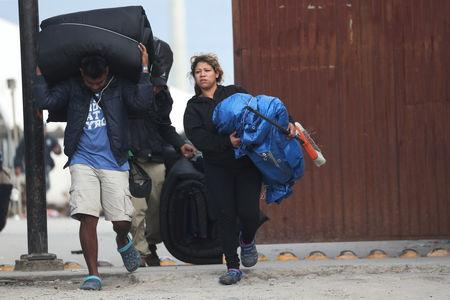 U.S. starts returning asylum seekers to Mexico to await court dates