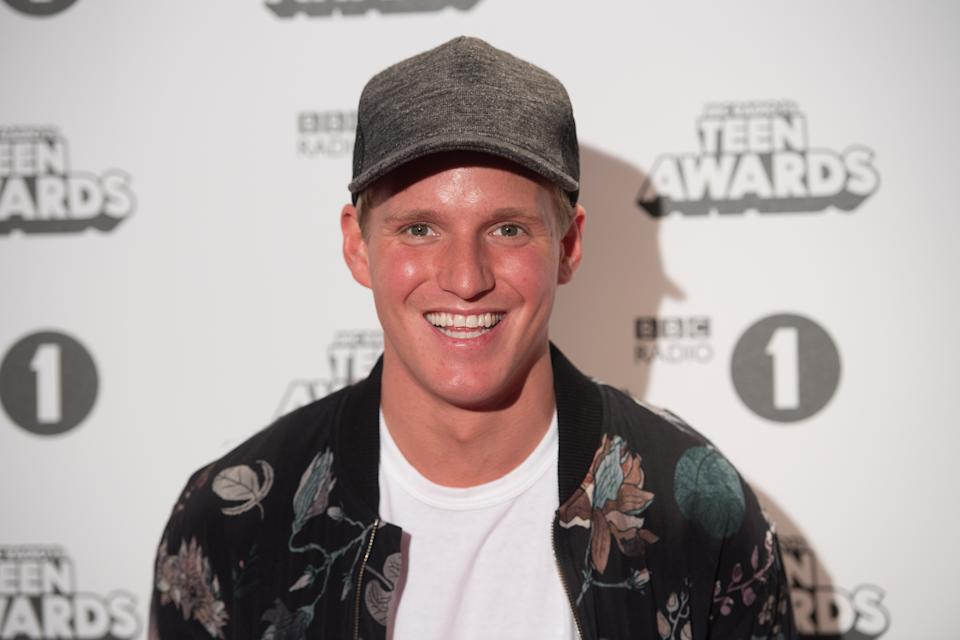 LONDON, ENGLAND - OCTOBER 23:  Jamie Laing attends BBC Radio 1's Teen Awards at SSE Arena Wembley on October 23, 2016 in London, England.  (Photo by Samir Hussein/Getty Images)