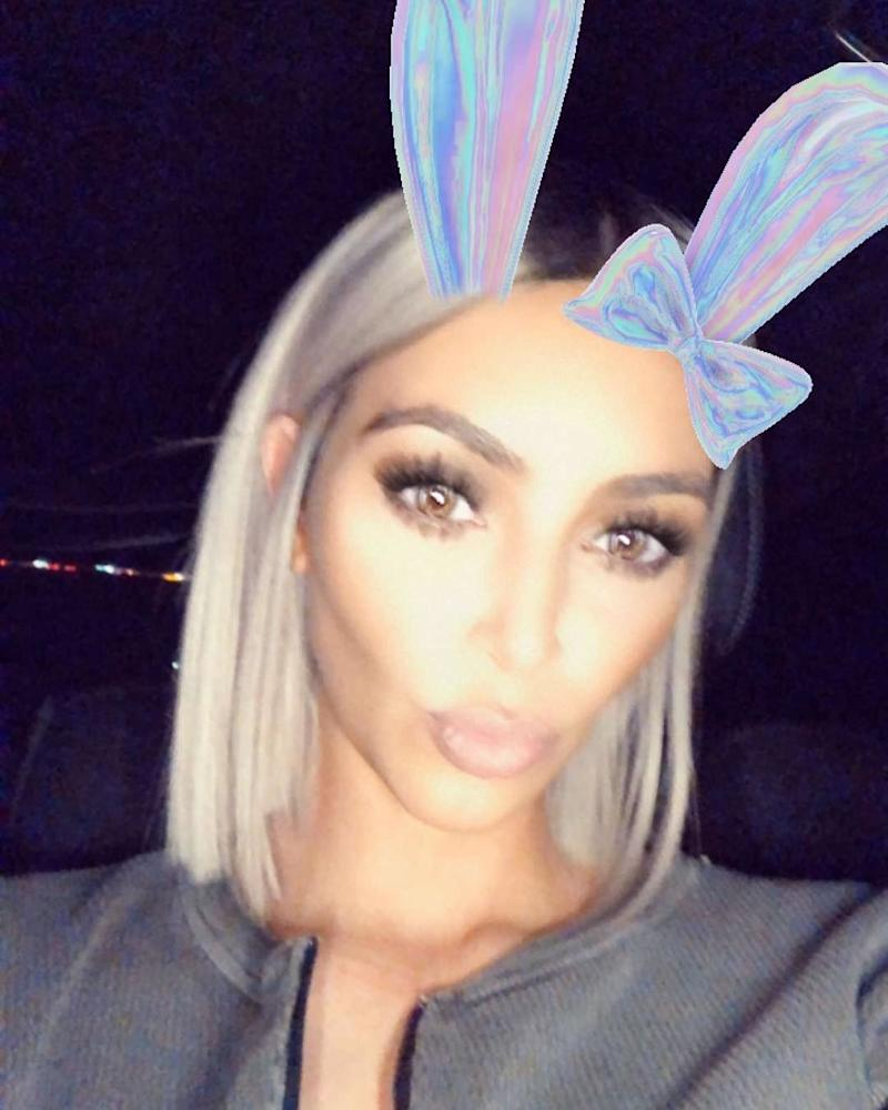 """Unveiling on Snapchat an even shorter bob, Kardashian took to social media to ask her fans, """"Do we like it or is it too short?""""."""