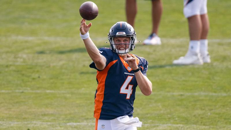 Broncos name Brett Rypien starting QB, but coach says his uncle Mark's name