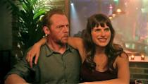 """<p> One of the oldest tricks in the rom com book finds Lake Bell's singleton Nancy bumping into Simon Pegg's divorcee Jack. While he waits for his 24-year old blind date - who will be holding a self-help book they both love - Nancy appears, holding the very same book. Instead of simply 'fessing up that he's got the wrong girl, she decides to go along with it and pretend she's Jessica. He eventually finds out, gets pretty annoyed, and plans to meet up with his original date... but by then, might he just have a soft spot for Nancy? </p> <p> It's tough finding that delicate balance between romance and actual, genuine comedy. This is the closest movie in years to resemble what it's like - in """"real life"""" - to strike up a relationship if you're a bit funny and geeky. </p>"""