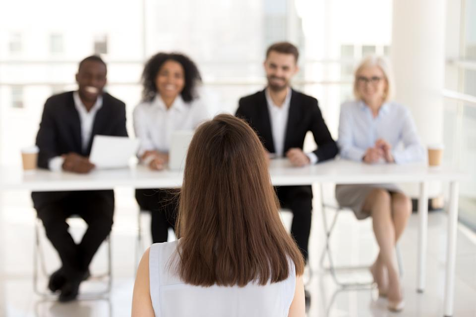 How to stand out at a job interview/. Source: Getty