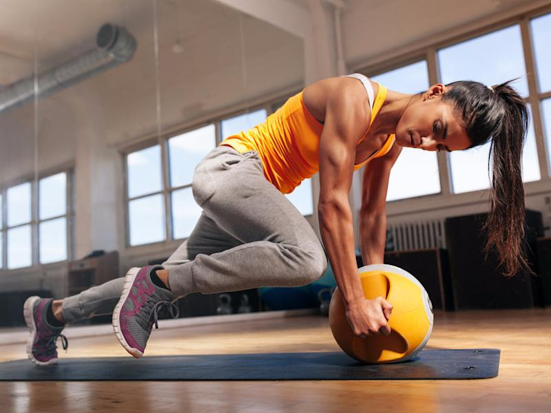 fitness workout high intensity training exercise