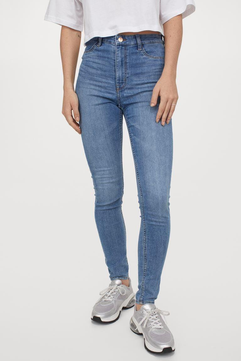 <p><span>H&amp;M's Super Skinny High Jeans</span> ($20) are ultra-stretchy with vintage appeal.</p>