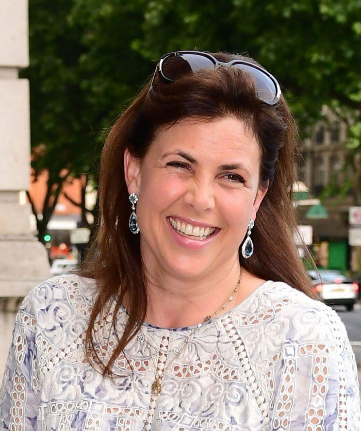 Kirstie Allsopp has sparked a Twitter debate about keeping washing machines in the kitchen [Photo: PA]
