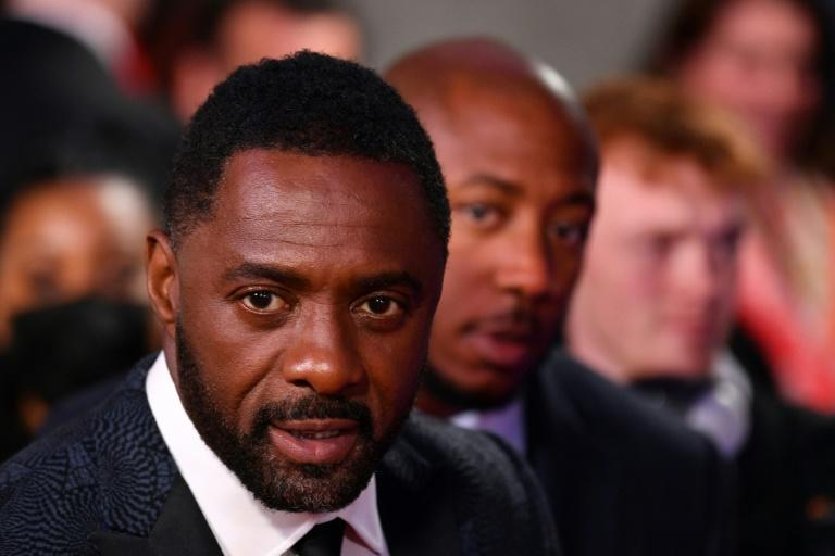 Idriss Elba plays plays Rufus Buck, a violent and feared outlaw, in a Netflix Western (AFP/JUSTIN TALLIS)