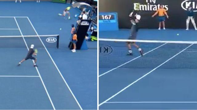 How did he do that? Image: Channel 7