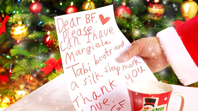 Make Your Partner a Holiday Wish List
