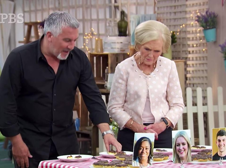 The Great British Baking Show, Paul Hollywood, Mary Berry