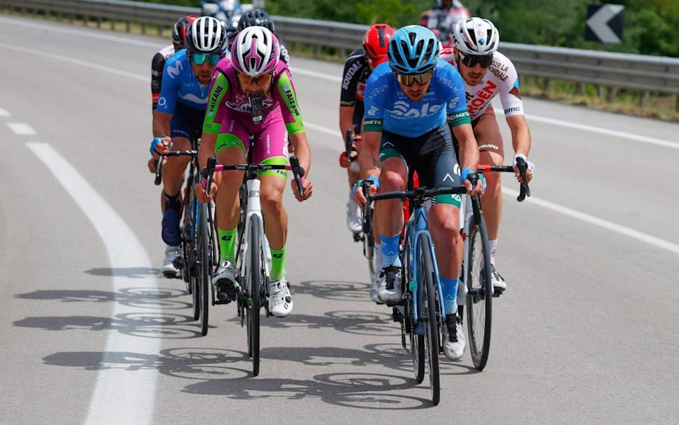 A breakaway -Giro d'Italia 2021, stage eight – live updates - GETTY IMAGES