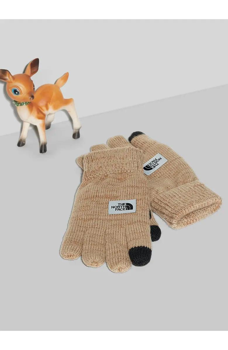 <p>These <span>The North Face Etip Salty Dog Knit Tech Gloves</span> ($35) are a smart choice, because they can still text in them.</p>