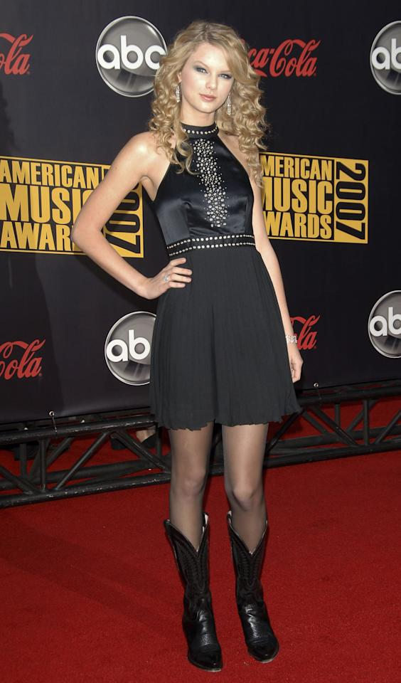 <p>The singer was nominated for favorite country female artist at the time. </p>