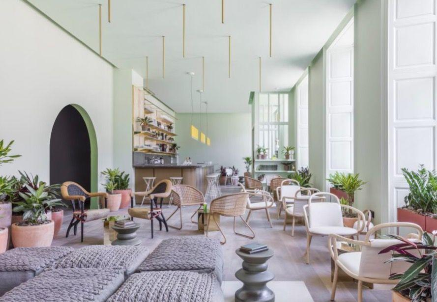 """<p>This on-trend aparthotel lies in an impressive Georgian building in the heart of Edinburgh's New Town, and ticks all our current interior design obsessions. Think mint green walls, wicker chairs, potted plants and brass finishes. It's extremely Instagrammable and a lovely space to hang out, particularly the cafe bar where locals and tourists tuck into freshly baked pastries and smoothies. Suites in sherbet shades are more like apartments, with tiny kitchens, big bed, L-shaped sofa, Apple TV, Pukka teas, milk and cocktails shakers. Guests also get one free yoga class a week. </p><p><strong>Stay:</strong> From £75pn </p><p><a class=""""link rapid-noclick-resp"""" href=""""https://www.lockeliving.com/en/edinburgh/eden-locke/living"""" rel=""""nofollow noopener"""" target=""""_blank"""" data-ylk=""""slk:BOOK NOW"""">BOOK NOW</a></p>"""