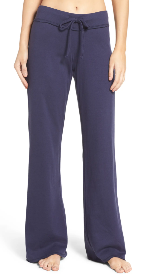 Nordstrom Lingerie Lazy Mornings Lounge Pants in Navy Peacoat